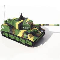 Танк Great Wall Toys German Tiger 1:72 RTR (GW-2117 Jungle Camo)
