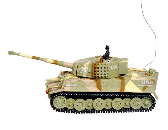 Танк Great Wall Toys German Tiger 1:72 RTR (GW-2117 Sand Camo)
