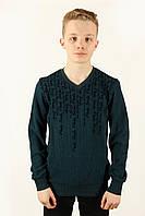 Футболка свитер мужской Fibak 2011 синий Размеры M L XL