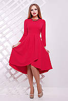 Женское алое платье Лика Glem 46 размер