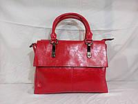 Женская сумка Velina Fabbiano красного цвета
