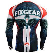 Комплект Рашгард Fixgear и компрессионные штаны CFL-35+FPL-BS, фото 3