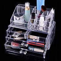 Акриловый органайзер для хранения косметики Cosmetic Organizer