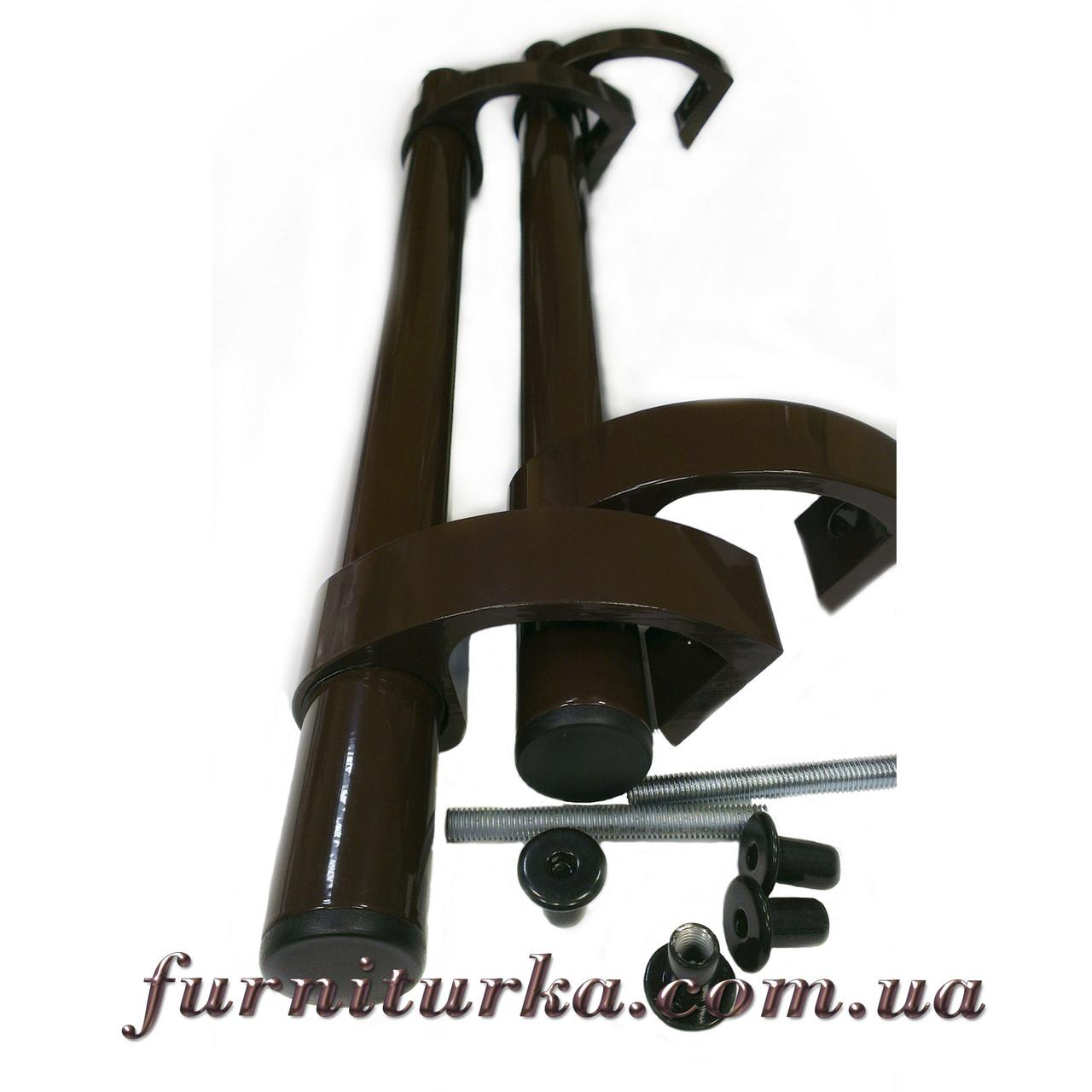 Ручка офисная коричневая 500 мм (Украина)