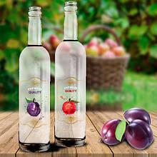 Декорация винной бутылки