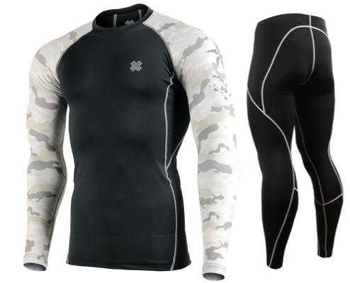 Комплект Рашгард Fixgear і компресійні штани CPD-BM1+P2L-BS