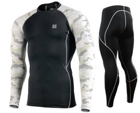 Комплект Рашгард Fixgear і компресійні штани CPD-BM1+P2L-BS, фото 2