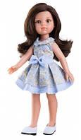 Кукла Paola Reina Кэрол в голубом 32 см (04407)