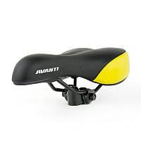 Седло Avanti AVY-6690 черно-желтое