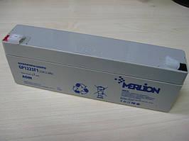 Аккумуляторная батарея Merlion AGM GP1223F1 12V 2.3Ah Q10