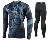 Комплект Рашгард Fixgear и компрессионные штаны CFL-82+FPL-BS