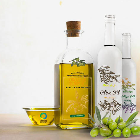Декорация бутылки для масла, фото 2