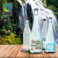 Декорация бутылки для воды