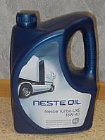 Масло моторное минеральное Neste Oil Turbo LXE 15W40, фото 1