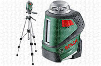 Линейный  лазерный нивелир Bosch PLL 360 SET + ШТАТИВ