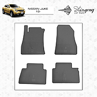 Коврики резиновые в салон Nissan Juke c 2010 (4шт) Stingray
