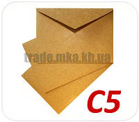 Крафт конверт С5 125 г/м2