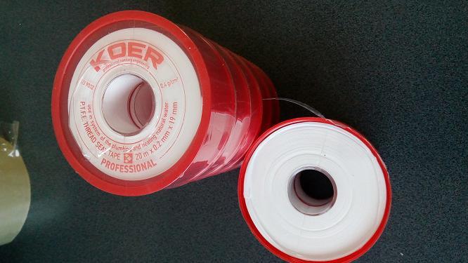 Лента ФУМ 19мм*0,2мм*20м для воды KOER