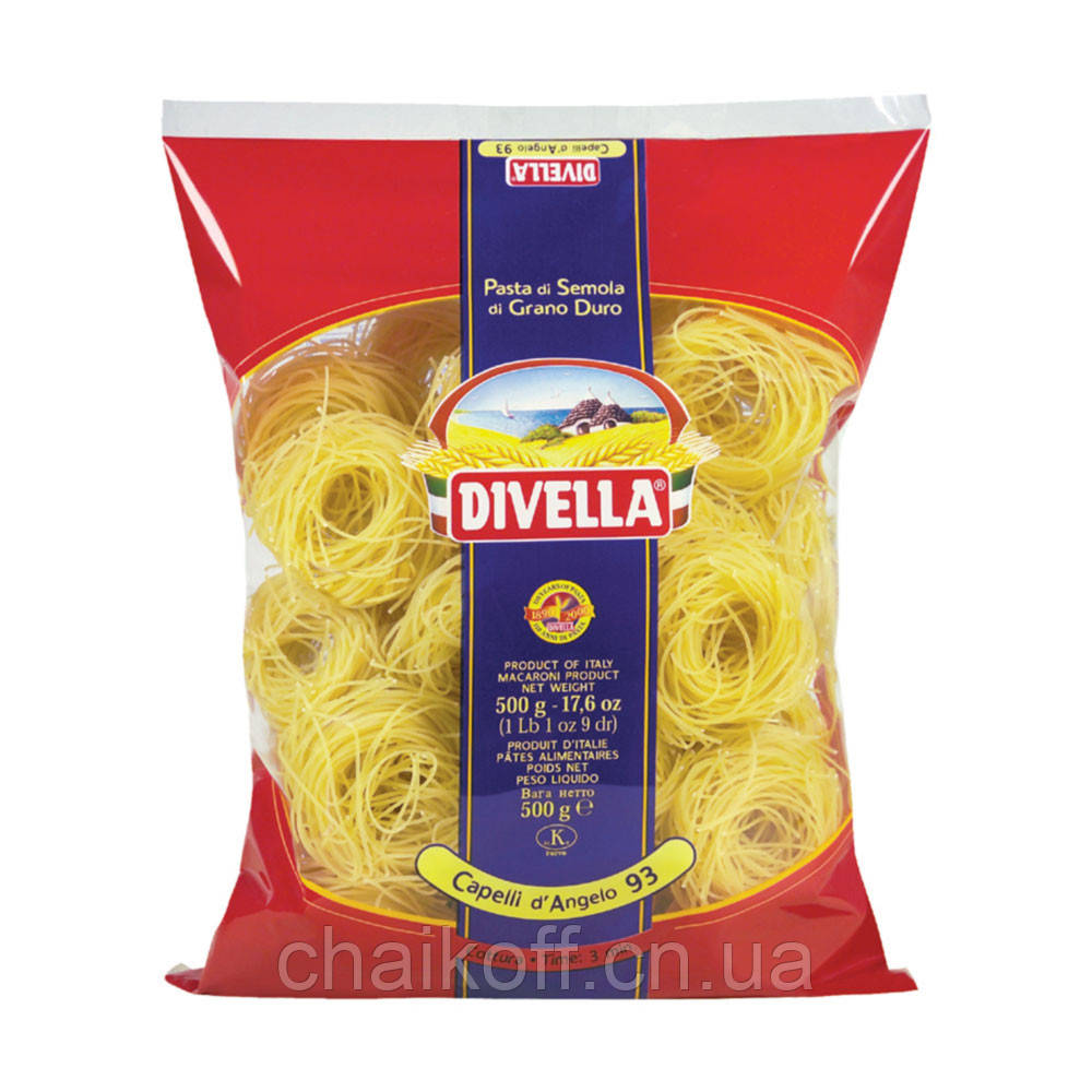 Макароны Divella Capelli di Angelo 500 г (Италия)