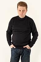 Свитер мужской полировка Tamko черный Размеры XL/52