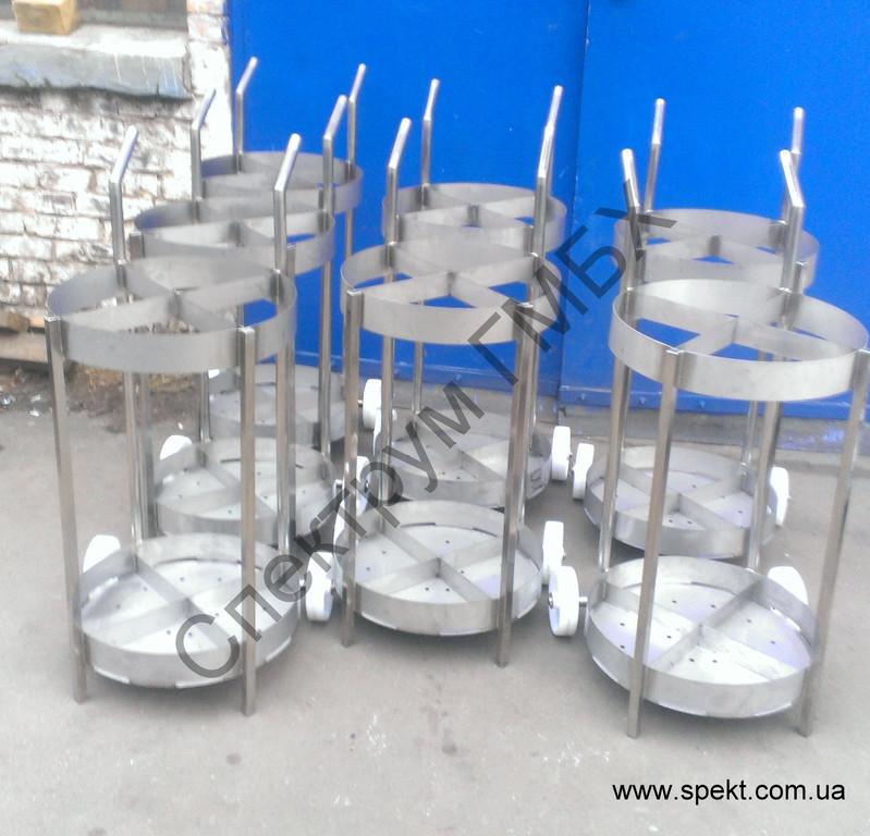 тележка для шампуров и коптильных палок