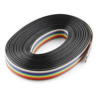 Dilux - Кабель-шлейф цветной 10pin 0,127мм, 28 AWG