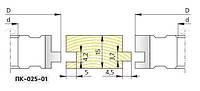 Фрезы твердосплавные для изготовления  паркета 125х32х20  ПК-025