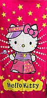 Полотенце детское пляжное Hello Kitty, 75х150 см
