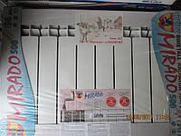 Радиатор отопления в частный дом и в квартиру MIRADO 500/96 биметаллический