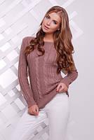 Вязаный женский свитер 16 цветов