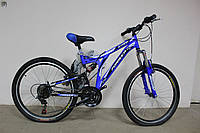 "Велосипед 24"" FORMULA STARK синий"