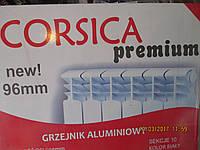 Радиатор отопления в частный дом и в квартиру CORSIKA 500/96 алюминиевый