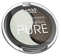Тени Для Глаз Maxi Color Mineral Pure - тон №2 Бронзовое Чудо