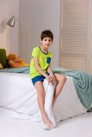 Детский комплект Mona envie Fluo сине-лимонный