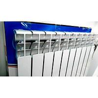 Радиатор отопления в частный дом и в квартиру Aquavita 500/80 алюминиевый