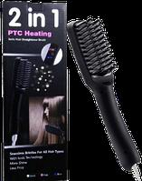 Электрическая расческа-выпрямитель ионизирующим эффектом Fast Hair Straightener