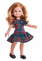 Кукла Paola Reina Клэр в клетчатом платье  32 см без коробки (34505)