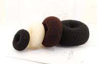 Бублик для волос  самый маленький 6 см №01