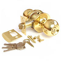 Ручка защелка круглая Apecs 6072-01 золото