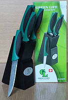 Набор ножей 6пр. Green Life 0074