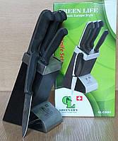 Набор ножей 6пр. Green Life 0085