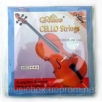 Струна 1 для виолончели Alice  А803