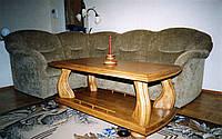 Журнальный стол из дерева  на заказ