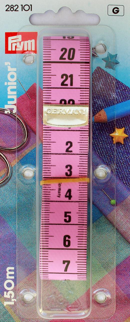 Сантиметр Junior рожево-зелений