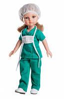 Кукла Paola Reina Карла врач 32 см без коробки (34617)