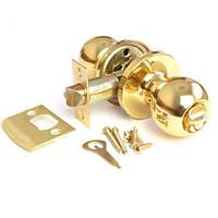 Ручка защелка круглая Apecs 6072-03 золото