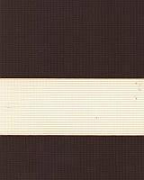 Тканевые ролеты День-ночь. 50*280 см. Стандарт Зебра ІІ 1092 Каштановый