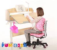 Детский стол-трансформер FunDesk Sentire Grey+ЛАМПА L3