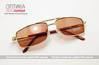 Солнцезащитные очки хамелеоны. Линзы стекло (коричневые)
