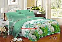 Комплект постельного белья Белый тюльпан